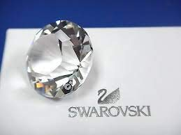 Swarovski Paperweight, Chaton Paperweight, Small
