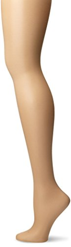 Lurex Gold Tights (CK Women's Shimmer Sheer Pantyhose with Control Top, Gold, Size B)
