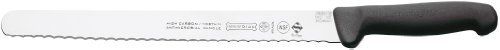 Mundial 5827-12E 12-Inch Serrated Edge Slicing Knife, Black by Mundial (Image #1)