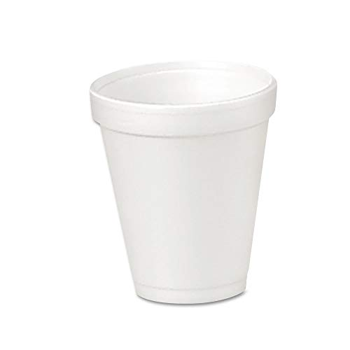 Ounce 4 Cartons (Dart 4J4 Foam Drink Cups, 4oz, 25/Bag, 40 Bags/Carton)