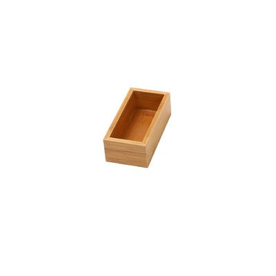 - YBM Home Bamboo Drawer Organizer Box (1, 6x9x2 Inch)