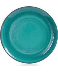 Home Design Studio Aqua Dinnerware Collection Salad Plate (Open Stock Dinnerware Collection)