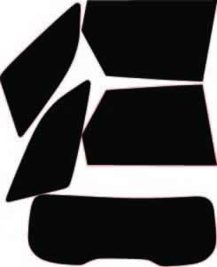 Rear Kit in 5/% Pre Cut Car Window Tints Ford Mondeo Estate 2007-2014