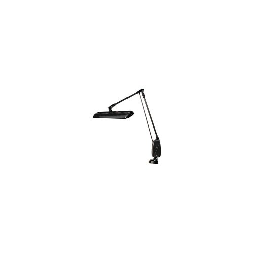 Professional Led Dazor Black Classic Arm Lamp, 34'', Clamp Base by US Gift