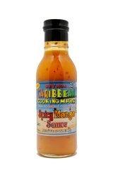 Coconut Mango Shrimp - Spicy Mango Sauce