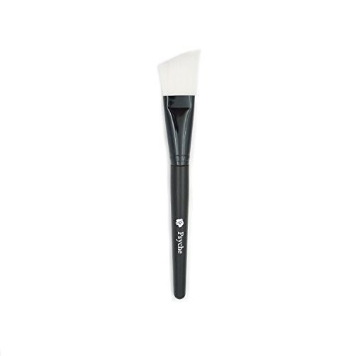 Psyche Angled Facial Mask Application Brush For Applying Facial Mask  Eye Mask Peel  Serum Or Diy Needs  Black