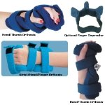 Comfy Hand/Thumb Splint, Terrycloth Cover, Pediatrics Large by Physical Therapy Supplies