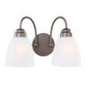 Commercial Electric Oil Rubbed Bronze 2-light Vanity by Commercial Electric