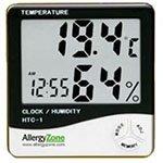 Allergy Zone Humidity, Temperature, Clock, Alarm meter