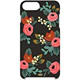Rifle Paper Co. Black Rose Floral Case for iPhone 7 Plus / 8 Plus (5.5inch) - in Retail Packaging