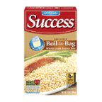 Success 10 Min Brown Rice Natural Whole Grain Boil-in-Bag 14 oz (Pack of 12)