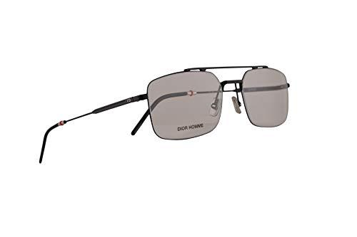 Christian Dior Homme Dior0230 Eyeglasses 55-18-150 Matte Black w/Demo Clear Lens 003 0230