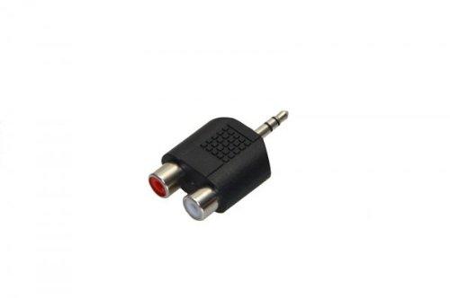 1 opinioni per Digitus 07628 Adattatore Sdoppiatore Jack Audio da 3.5 mm, Maschio, 2 X Cinch