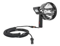 30 Million Candlepower Handheld Spotlight - 55 Watt HID - 5000 Lumens - Spot / Flood Combo(7 inch-16' Batt Clamps)