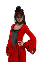 [Costume Accessory: Vampiress Kit PROD-ID : 549115] (Red Vampiress Adult Costumes)