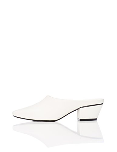 Mules Blanco Mujer Rind white Find 0dqgO0