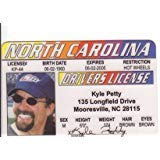 Kyle Petty Novelty Drivers License / Fake I.d. Identification for Nascar Fans