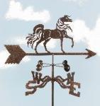 Arabian Horse Roof Mount Weathervane