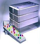 Acrylic Organizer for Styrofoam Storage Boxes, 2 x 3 Array, 12 1/2 x 8 1/4 x 10 Inches