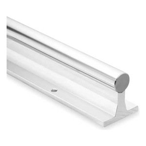 Thomson SRA24L48 Rail Assembly, Aluminum and Steel, 1.5'' Diameter, 48''