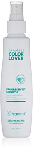 Framesi Color Lover Progressively Smooth 6 Fl Oz | Color Safe Leave In Smoothing Spray, Anti-Frizz Spray | Vegan, Gluten-Free, Sulfate-Free, Paraben-Free