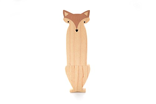 16GB Hand Made Maple Wood – Fox 2.0 USB Flash Drive – Single Item – Maple Fox Design