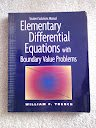 Elementary Differential Equations with Boundary Value Problems, Trench, William, 0534360904