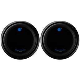 2100W Car Audio Power Subwoofer DVC 4 Ohm, 2-Pack   AC15D ()