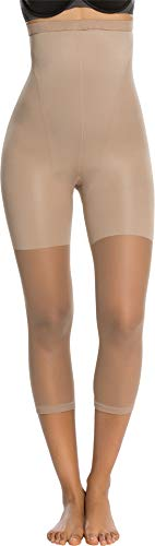 Spanx Tights Nylon - Spanx Women's Higher Power Capri Nude D