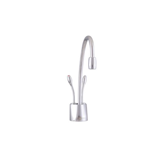 Large Product Image of InSinkErator F-HC1100SN Indulge Contemporary Hot and Cold Water Dispenser Faucet, Satin Nickel