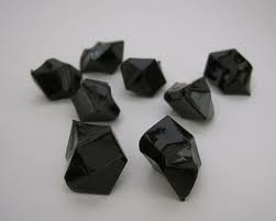 Tanday 1 Pounds Black Acrylic Ice Rock Vase Filler Gems or Table Scatter (Black Acrylic Gems compare prices)