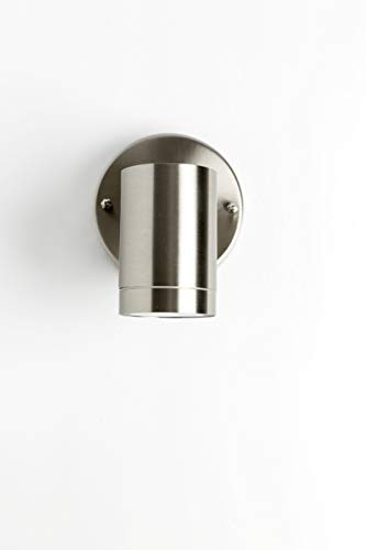 LJ OutDoor Light Wall Sconce 203 Stainless Steel BRIGHT LED 5
