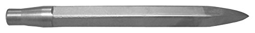 Champion Chisel, Jumbo Rivet Buster Style Shank, 18-Inch Long Flat Moil Point