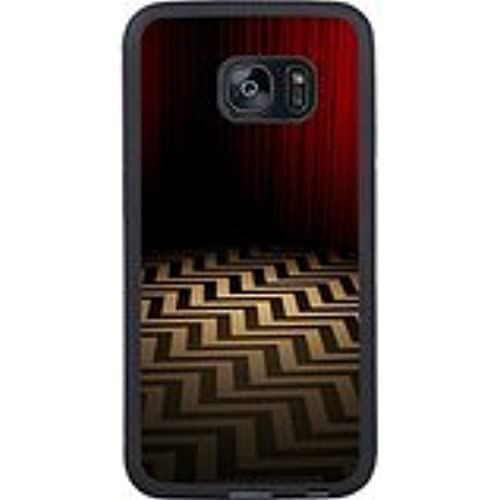 Twin Peaks Black Shell Phone Case Fit For Samsung Galaxy S7 Edge,Beautiful Cover Sales