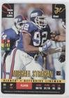 (Michael Strahan (Football Card) 1995 Donruss Red Zone - [Base] #MIST)