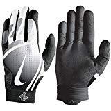 Nike Huarache Pro Baseball Gloves, Adult, Black/White (x-Large)