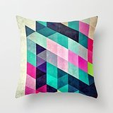 Crimson Bolt Costume (Alphadecor Geometry Pillow Covers 16 X 16 Inches / 40 By 40 Cm Best Choice For Indoor,home,wedding,adults,saloon,home Theater With Twin Sides)