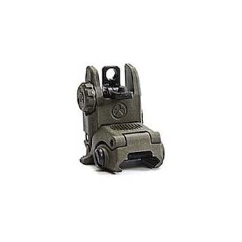 Magpul Gen 2 MBUS Rear Flip Sight, Od Green