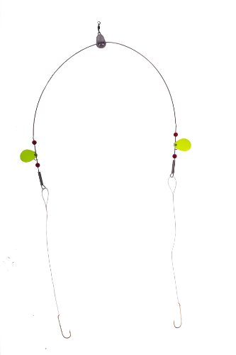 - Bullet Weights Perch Fishing Rig, Chartreuse