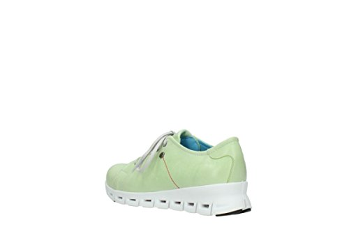 Donna Leder Wolky 375 Lime 2051 307 Sneaker YOwwtqxC7