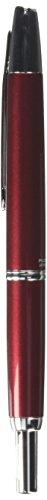 Pilot Fountain Pen Capless Decimo, Red Body, (18k Nib Fountain Pen)