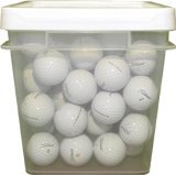 100 Ball Bucket Titleist NXT Mix Recycled Golf Balls Used Assorted