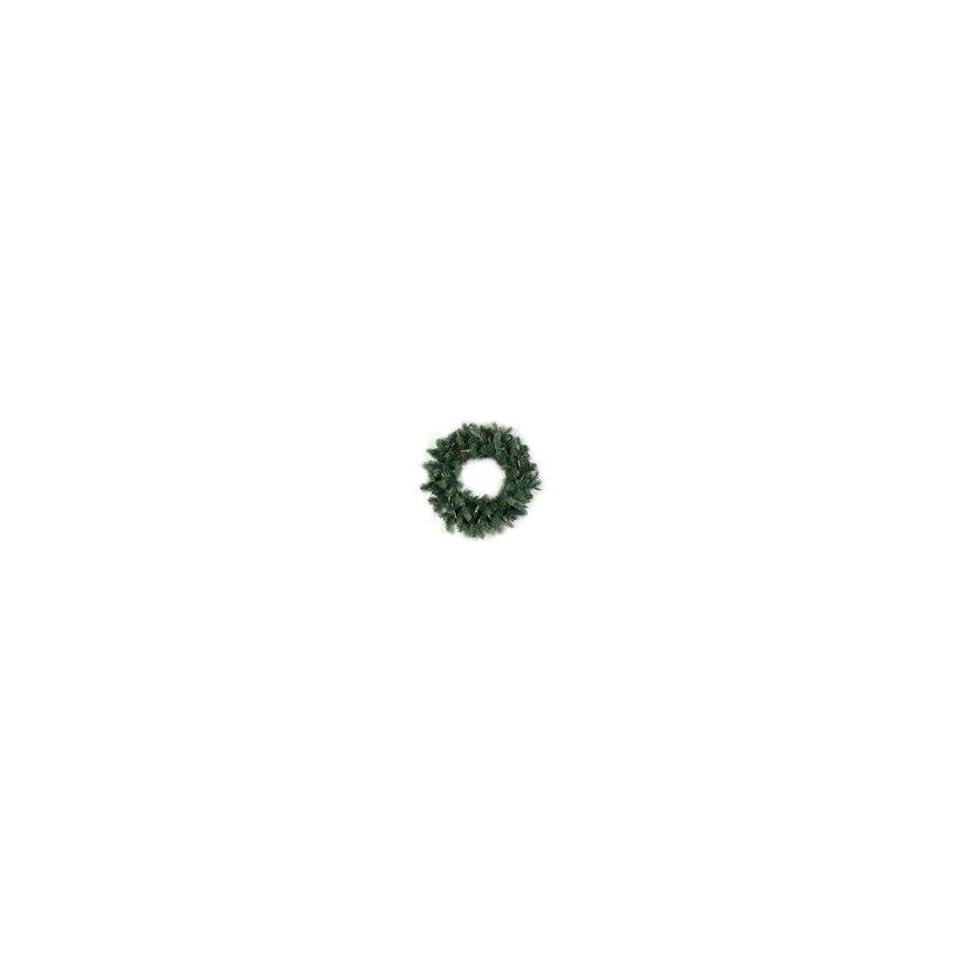 24 Pre lit Natural Frasier Fir Artificial Christmas Wreath   Mul
