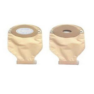 1-Piece Post-Op Adult Drainable Pouch Cut-to-Fit Convex 1-3/16