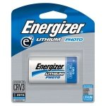 Energizer CVR3 Advanced Photo Lithium Battery Retail Pack - Single