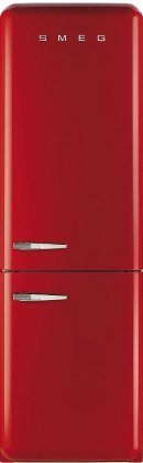 Smeg FAB32URDRN 50s Syle Bottom Freezer 11.7 Cubic Feet Red Right-hand Refrigerator