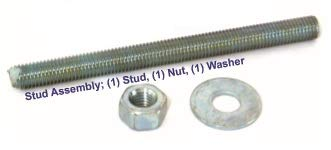 1 x 12 Stud Assembly Pack of 5