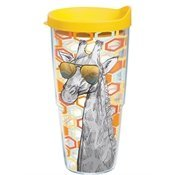 Tervis Tumbler Funky Animals Giraffe with Shades Wrap 24oz with Travel Lid by Tervis