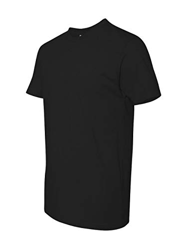 Next Level Mens Premium Fitted Short-Sleeve Crew T-Shirt - Small - Black