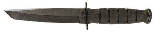 Ka-Bar Short Tanto Point Knife, Black, Outdoor Stuffs